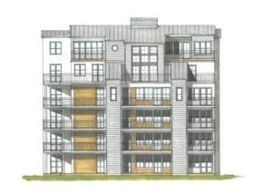 Tornseglaren i Stadsskogen Alingsås erbjuder ett bekvämt boende med garage under de två eleganta punkthusen med 15 lägenheter vardera.