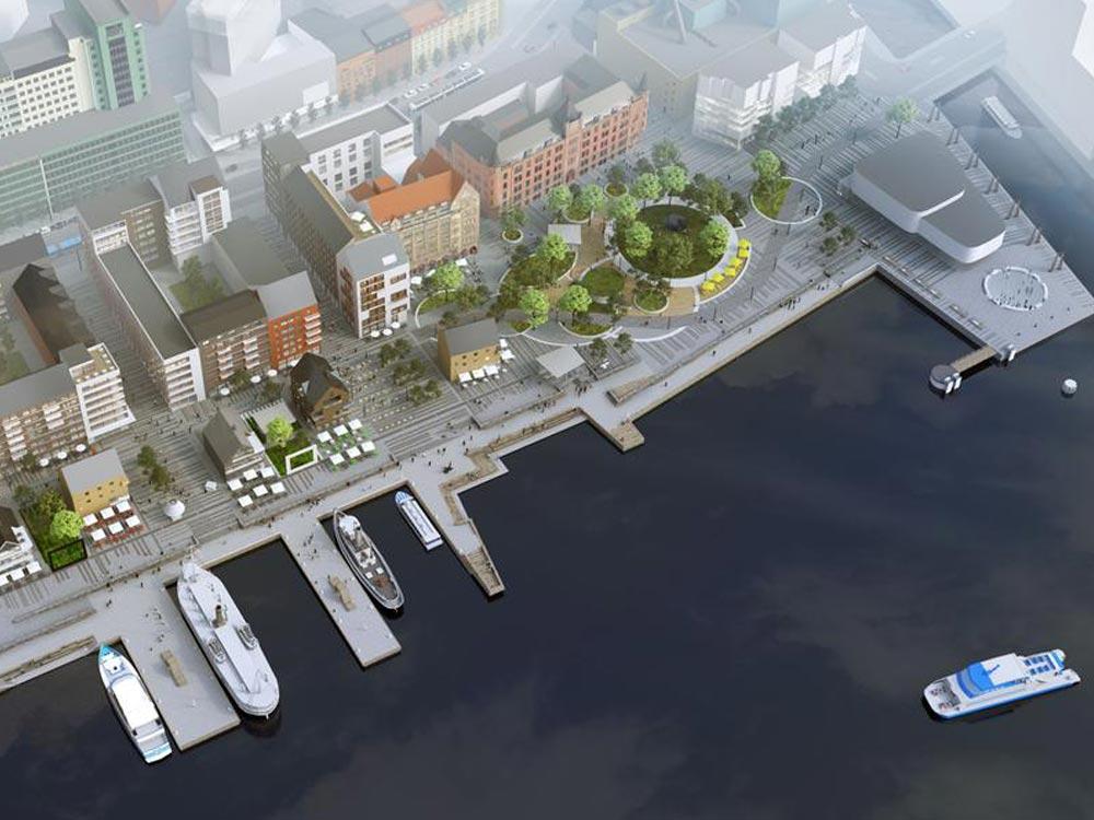 Älvstaden – utveckling av 25000 bostäder och 45000 arbetsplatser på båda sidor om Göta Älv.